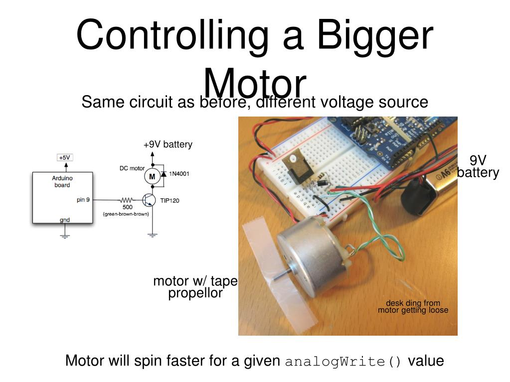 Controlling a Bigger Motor