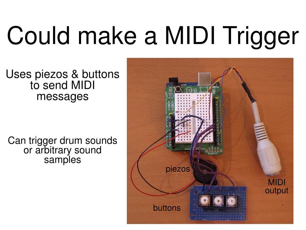 Could make a MIDI Trigger