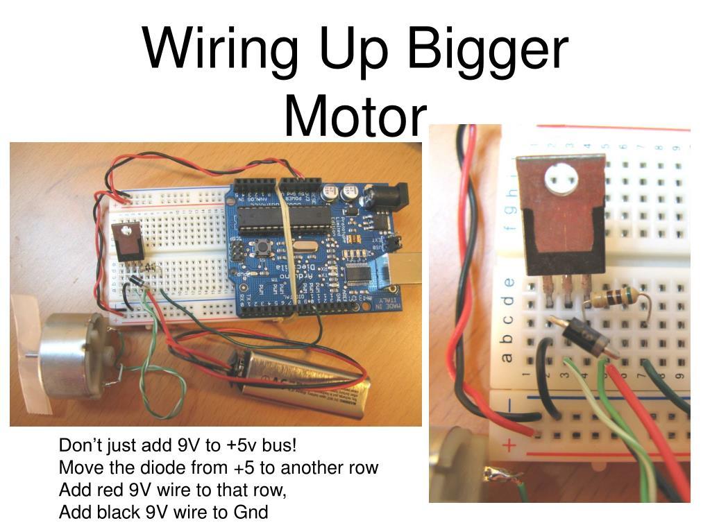 Wiring Up Bigger Motor