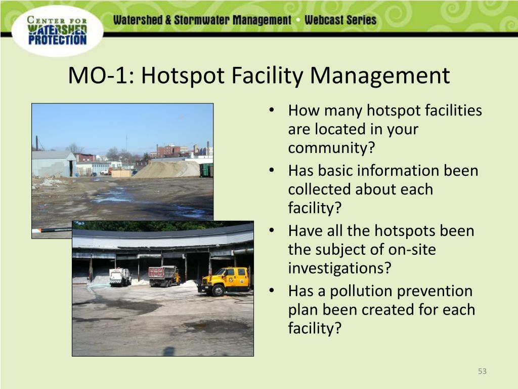 MO-1: Hotspot Facility Management