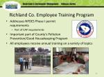 richland co employee training program