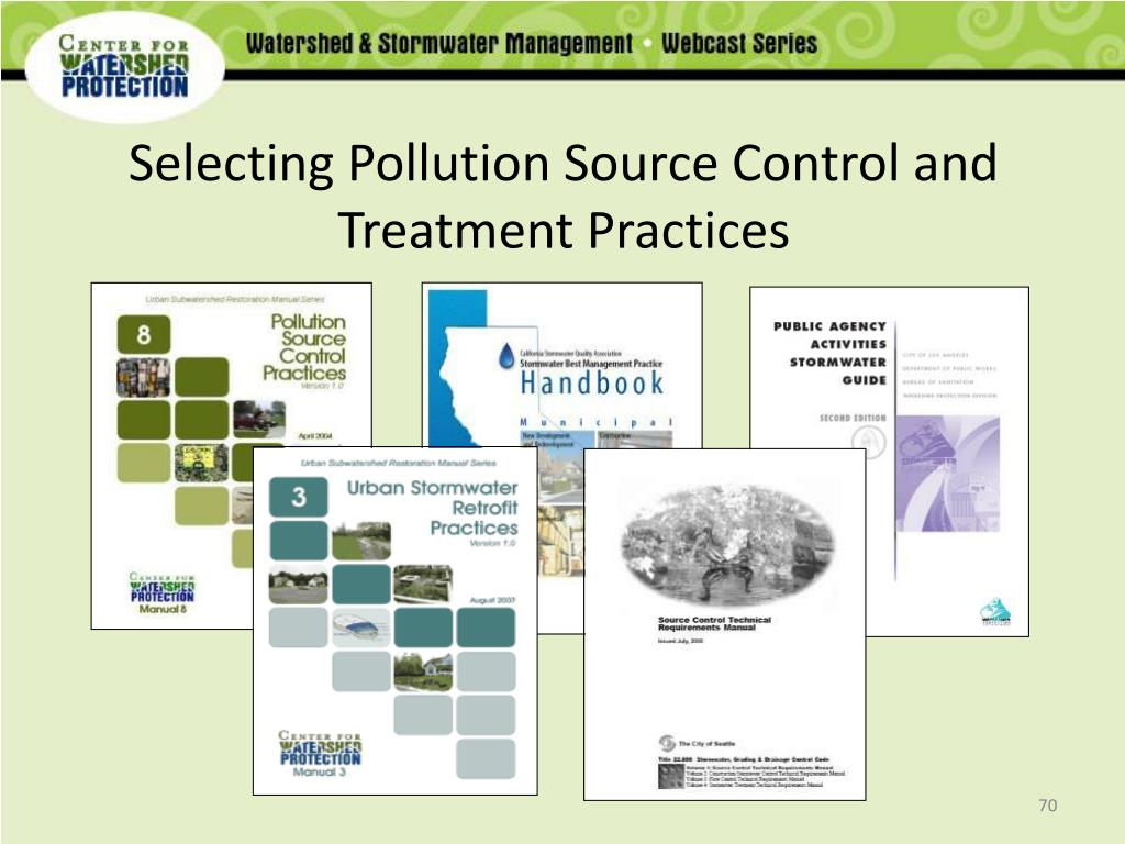 Selecting Pollution Source Control and