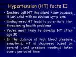 hypertension ht facts ii