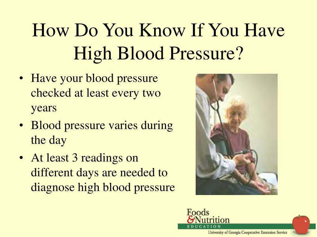 How Do You Know If You Have High Blood Pressure?
