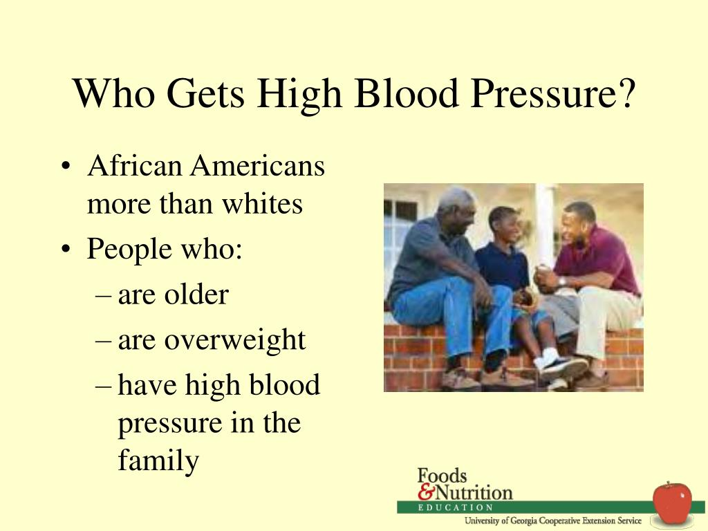 Who Gets High Blood Pressure?