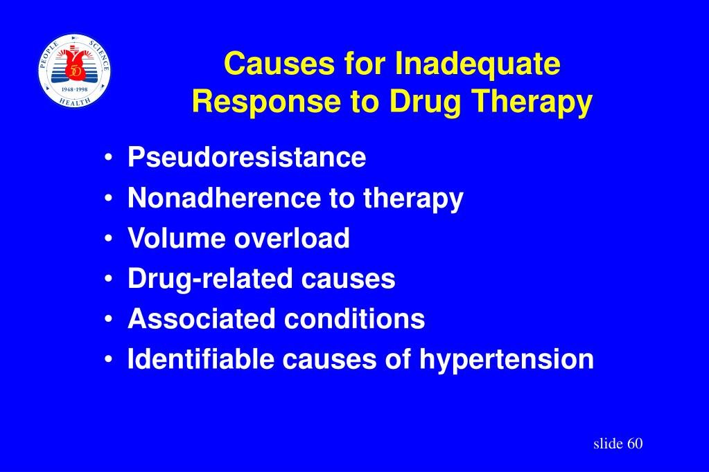 Causes for Inadequate