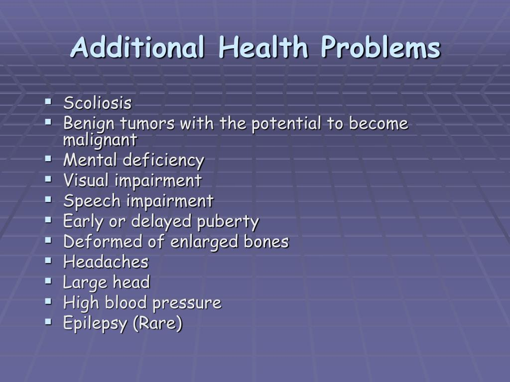 Additional Health Problems