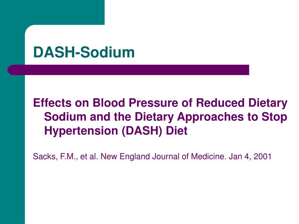 DASH-Sodium
