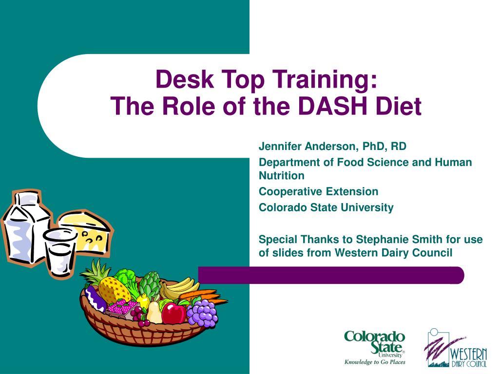 Desk Top Training: