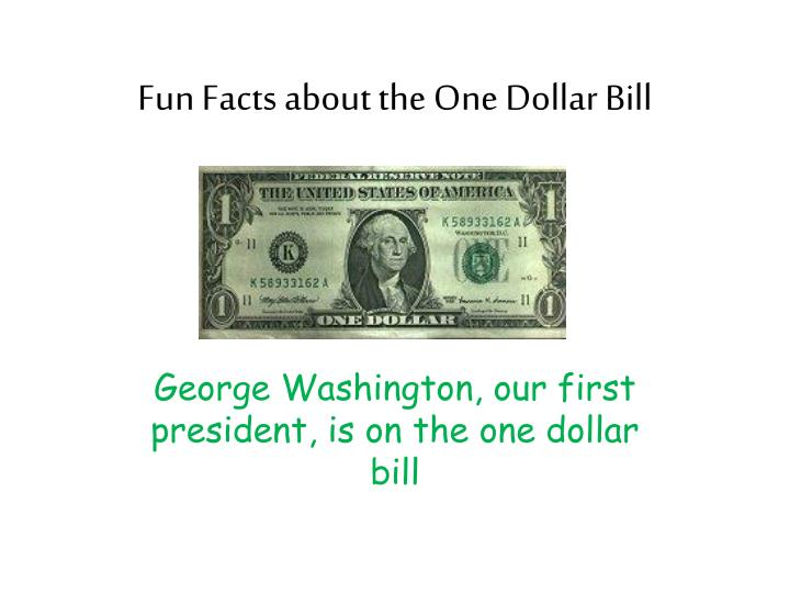 Fun facts about the one dollar bill l.jpg