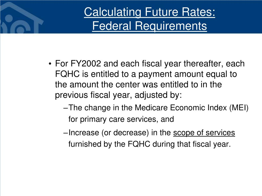 Calculating Future Rates: