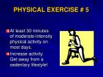 physical exercise 5