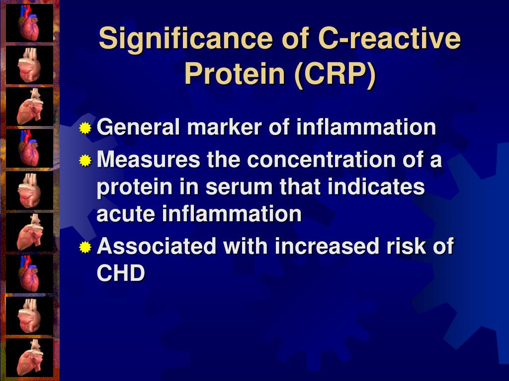 Significance of C-reactive Protein (CRP)