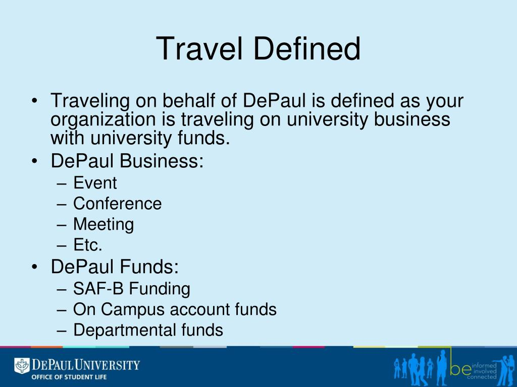 Travel Defined