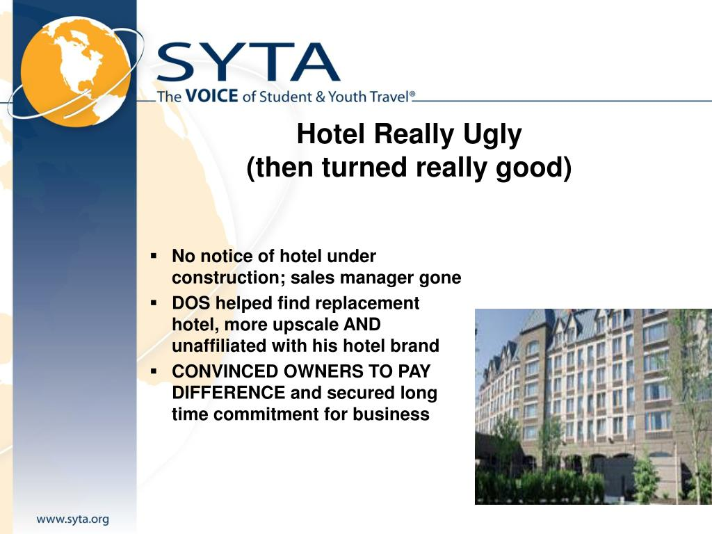 Hotel Really Ugly