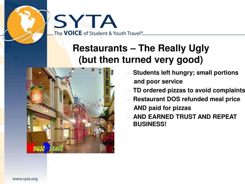 Restaurants – The Really Ugly