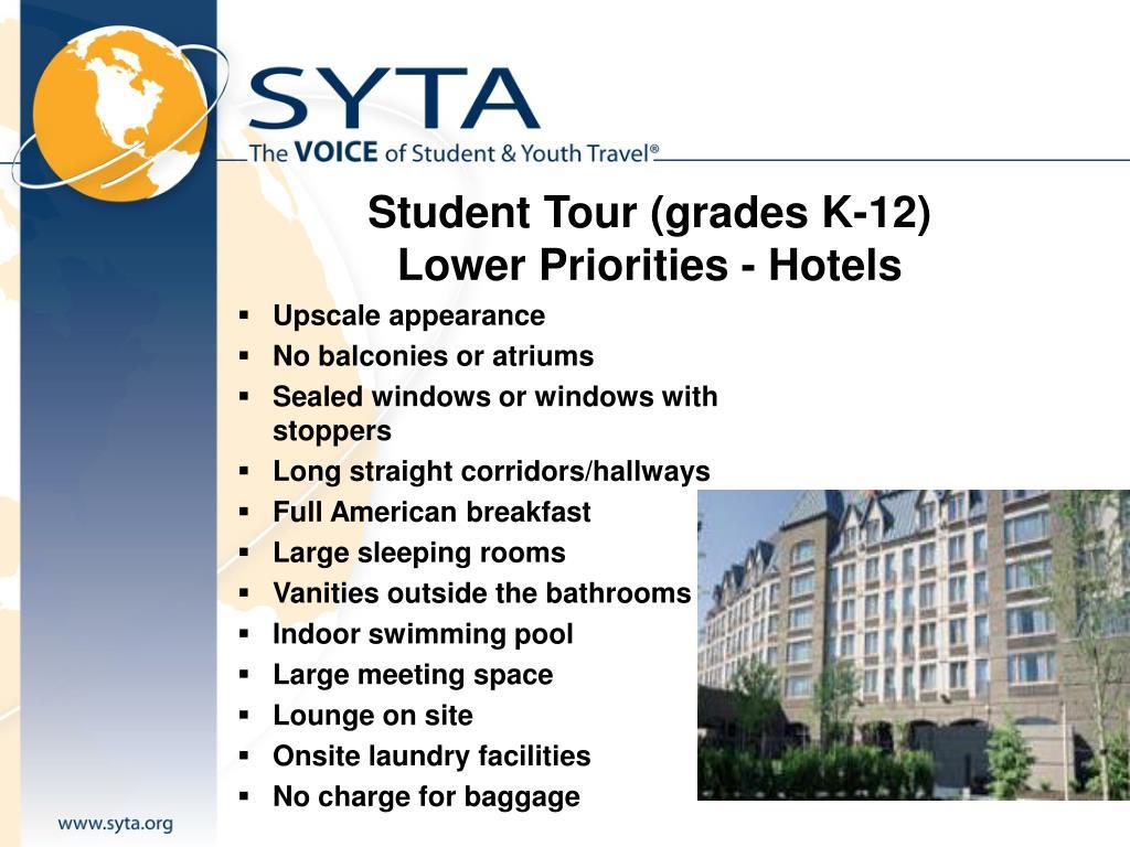 Student Tour (grades K-12)