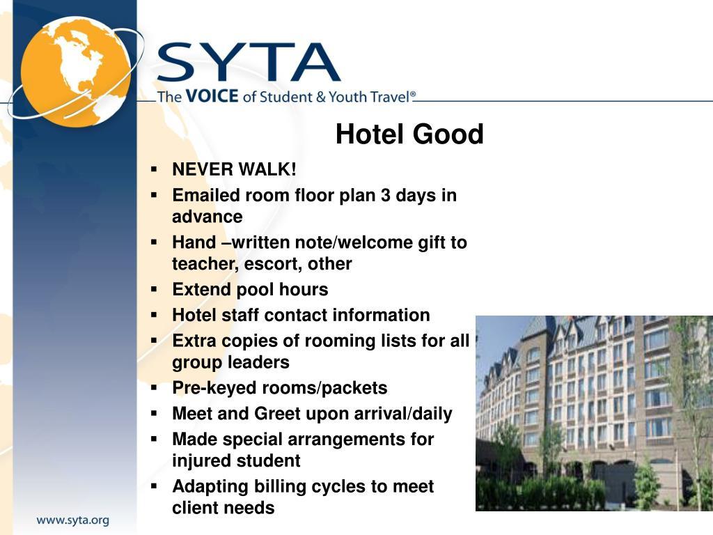 Hotel Good
