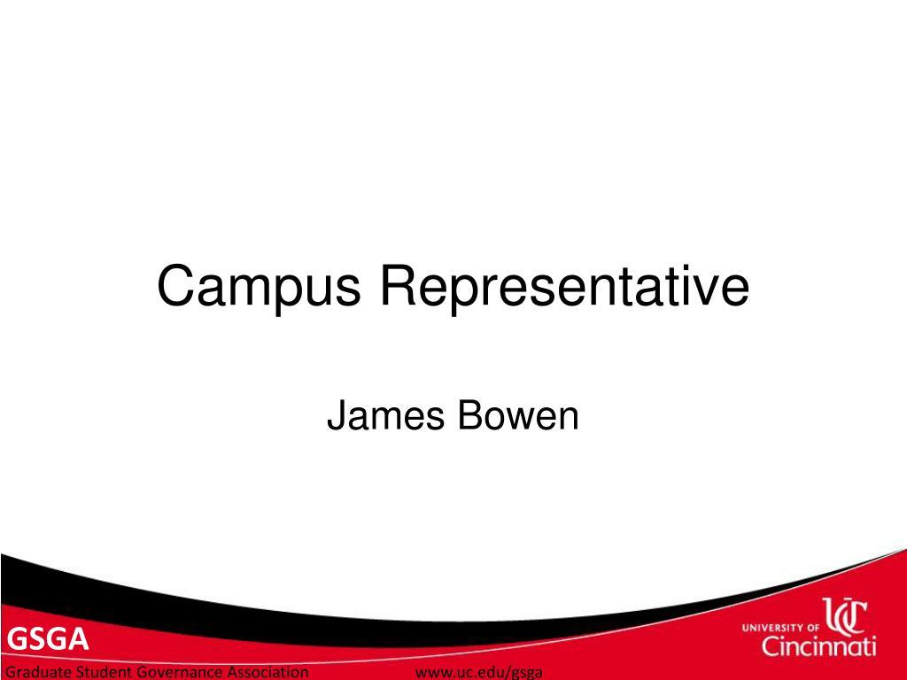 Campus Representative