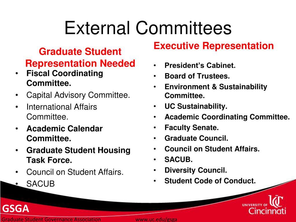 External Committees
