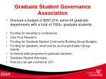 graduate student governance association10