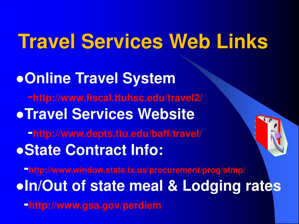 Travel Services Web Links