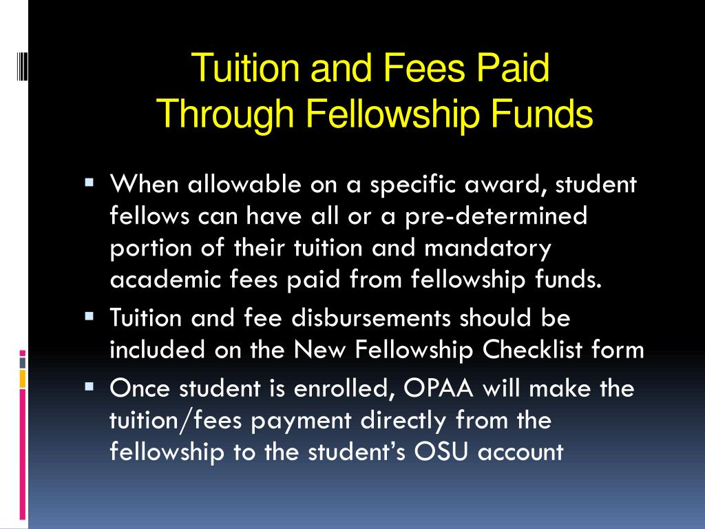 Tuition and Fees Paid