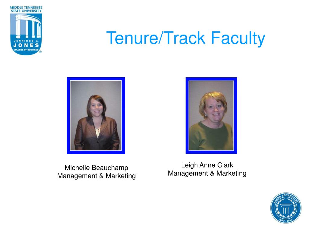 Tenure/Track Faculty