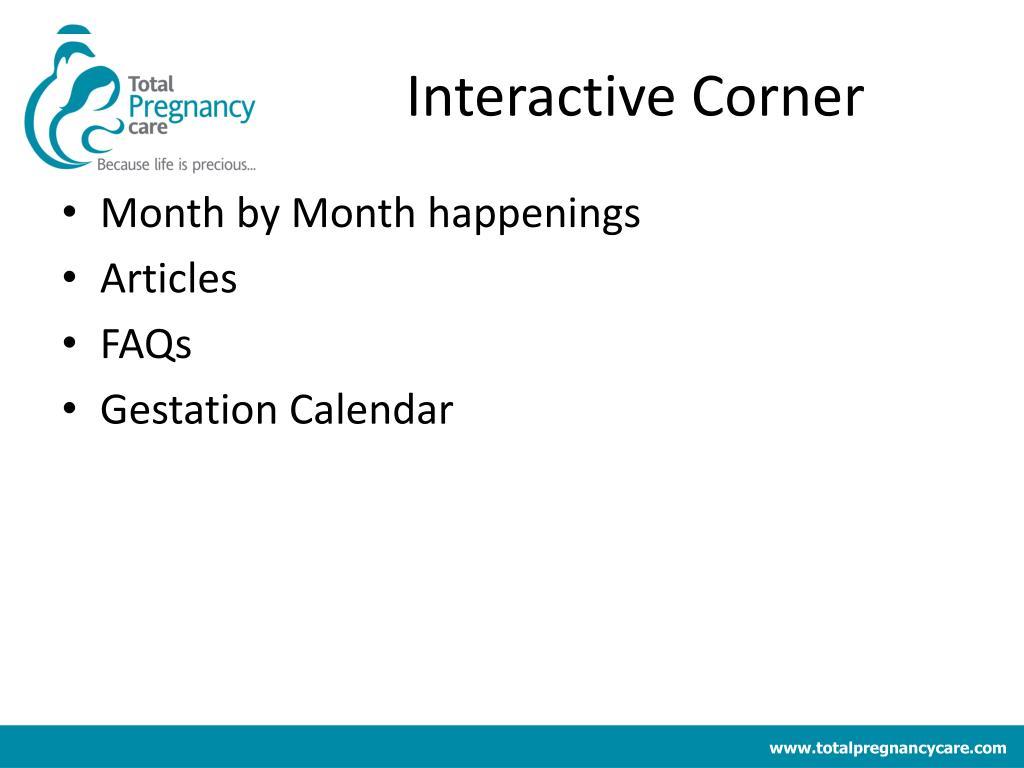 Interactive Corner