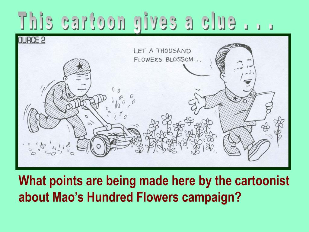 hundred flowers campaign Hundred flowers campaign the hundred flowers campaign, also termed the hundred flowers movement (simplified chinese: 百花运动 traditional chinese: 百花運動 pinyin: bǎihuā yùndòng), was a period in 1956 in the people's republic of china during which the communist party of china (cpc) encouraged its citizens to openly express their opinions of the communist regime.