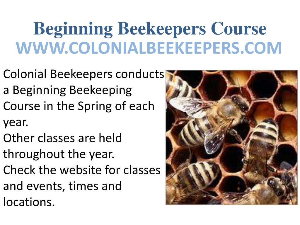 Beginning Beekeepers Course