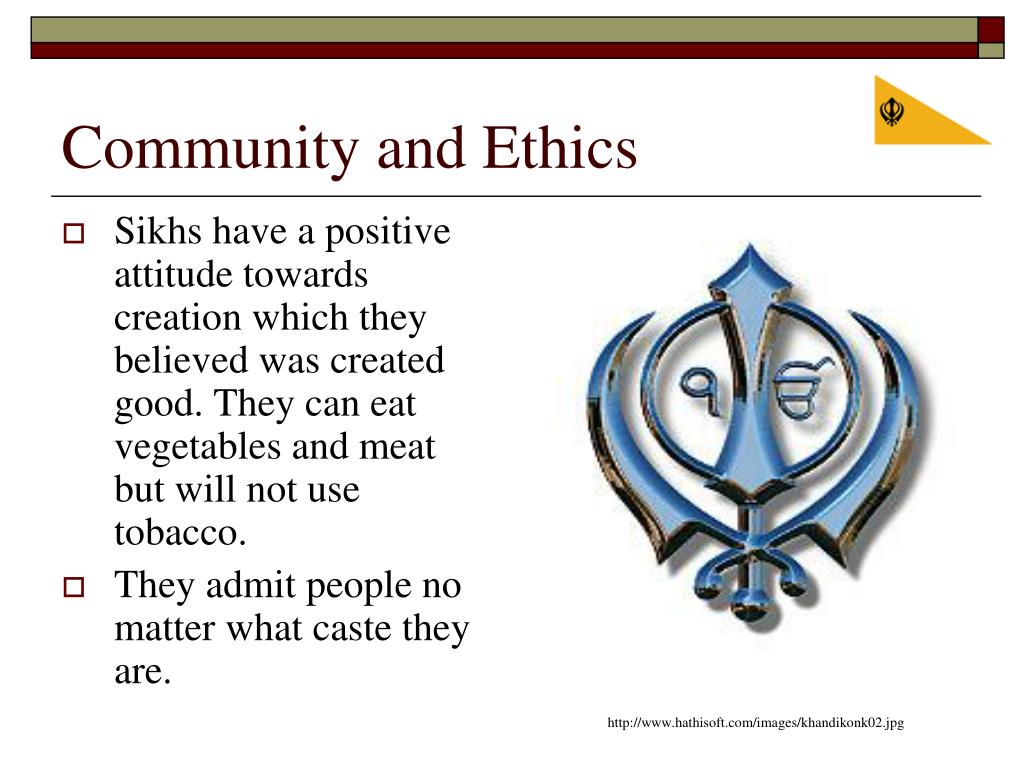 Community and Ethics