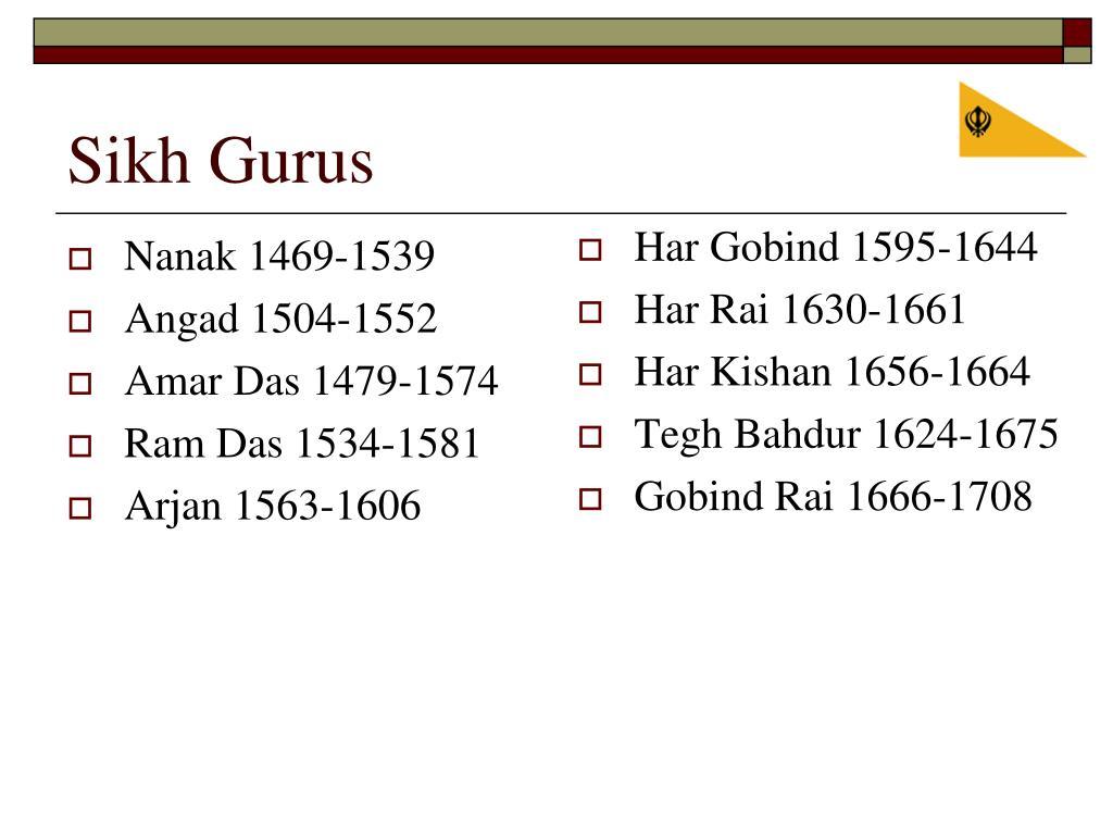 Nanak 1469-1539