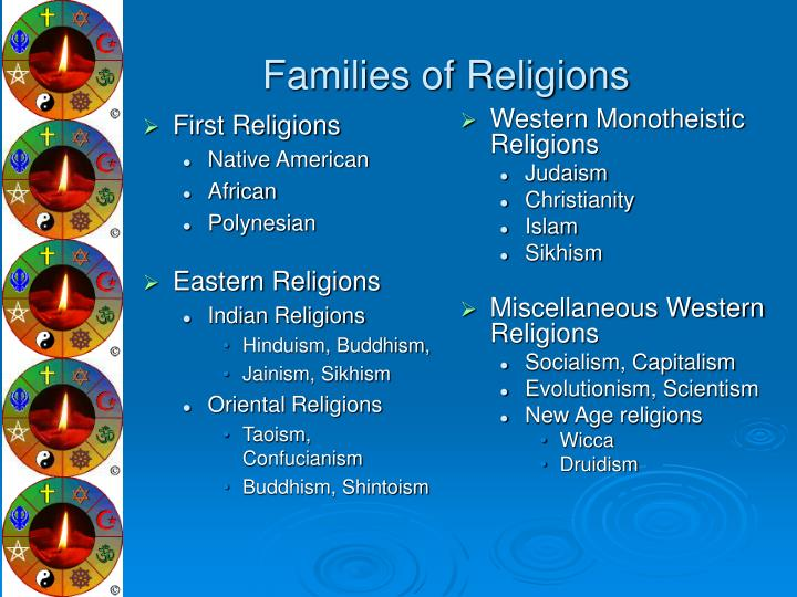 Families of religions