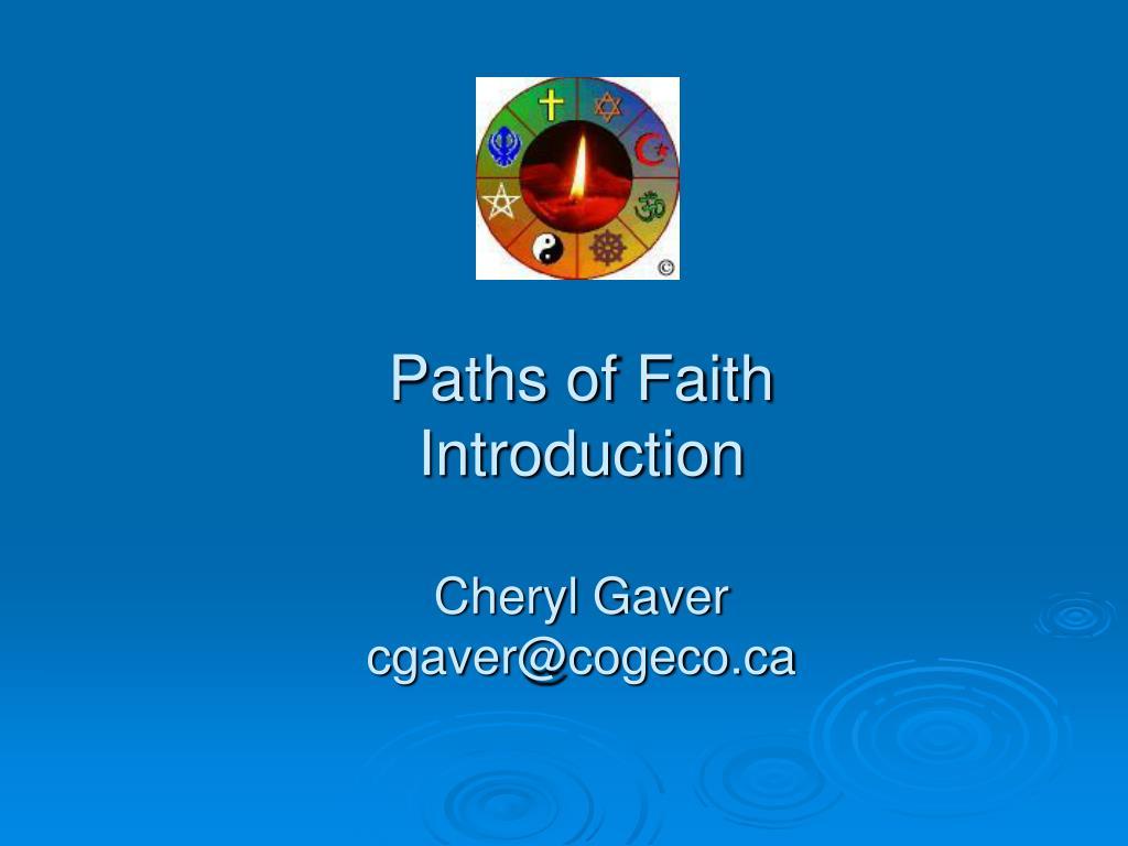 Paths of Faith