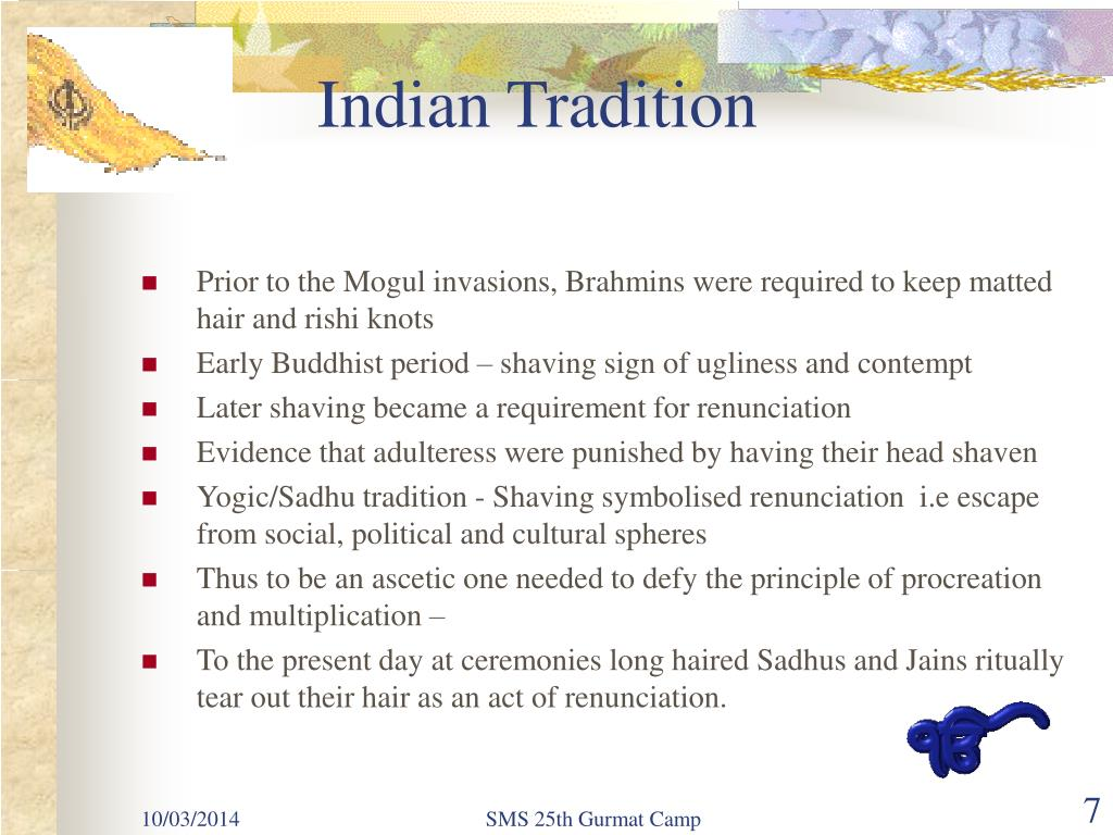 Indian Tradition