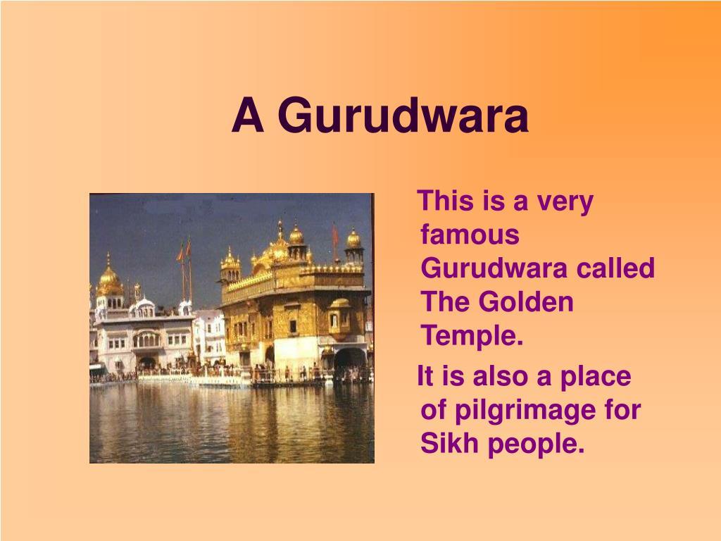 A Gurudwara