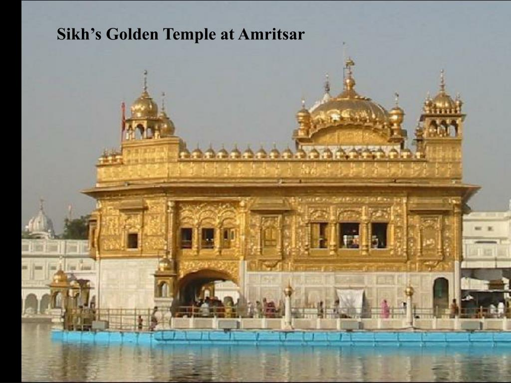 Sikh's Golden Temple at Amritsar