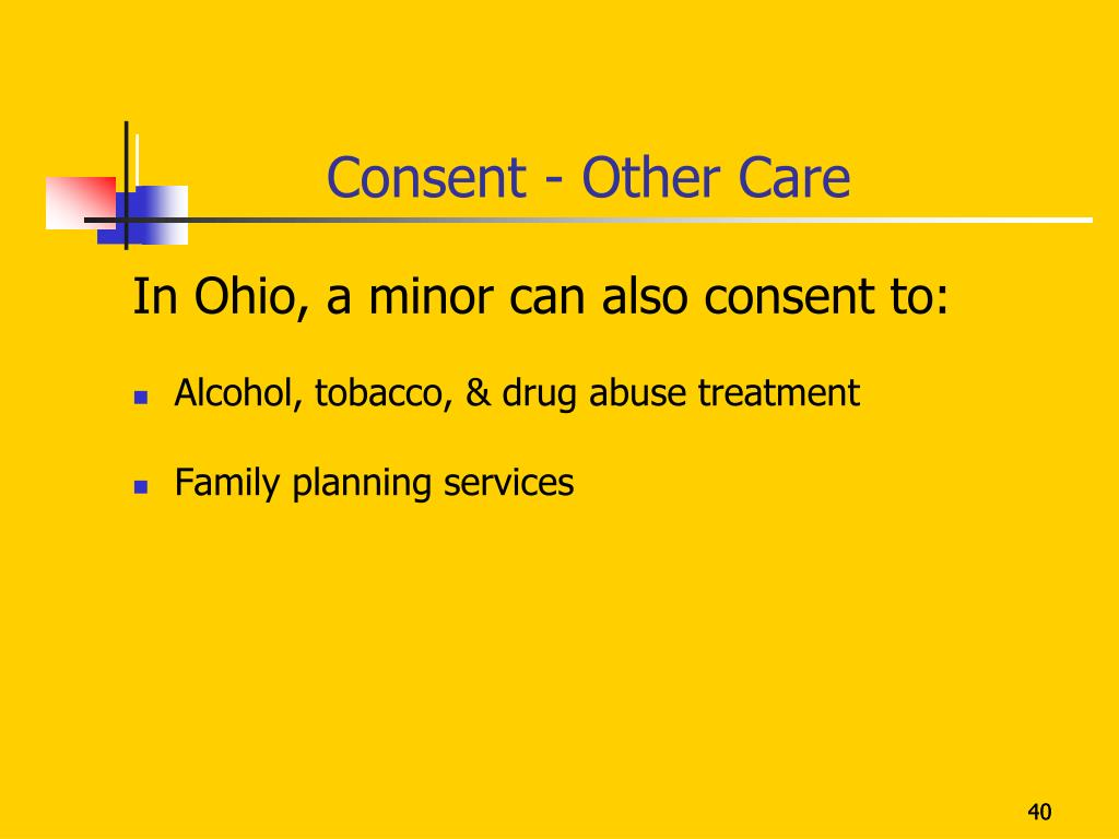Consent - Other Care