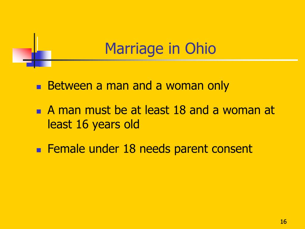 Marriage in Ohio