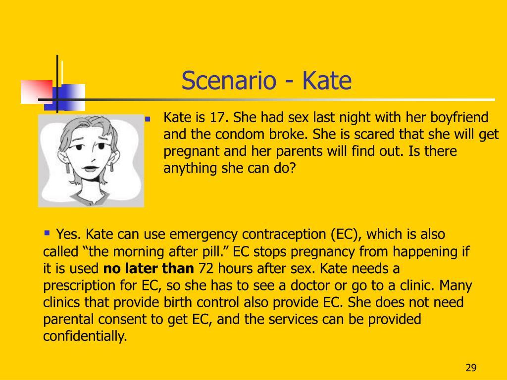 Scenario - Kate