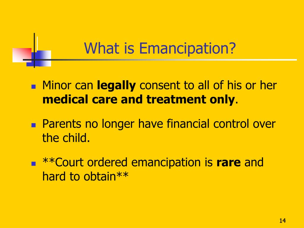 What is Emancipation?