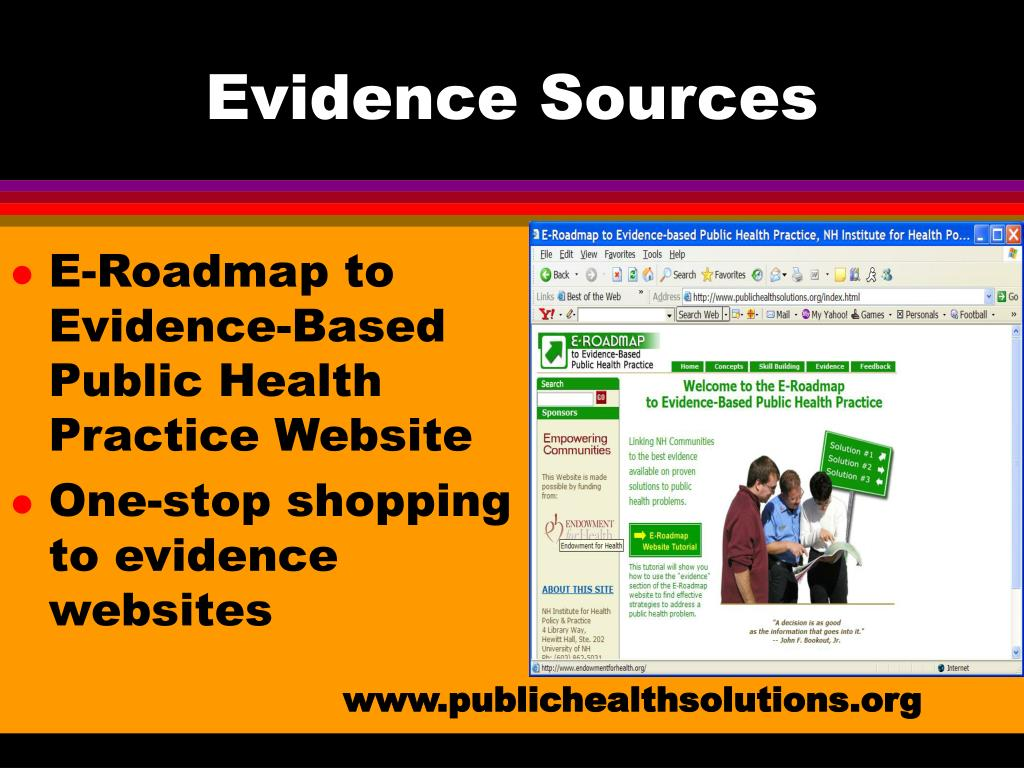 Evidence Sources