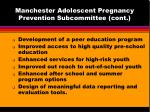 manchester adolescent pregnancy prevention subcommittee cont