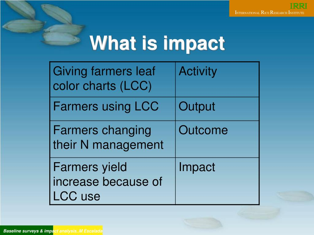 What is impact