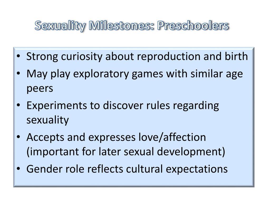Sexuality Milestones: Preschoolers