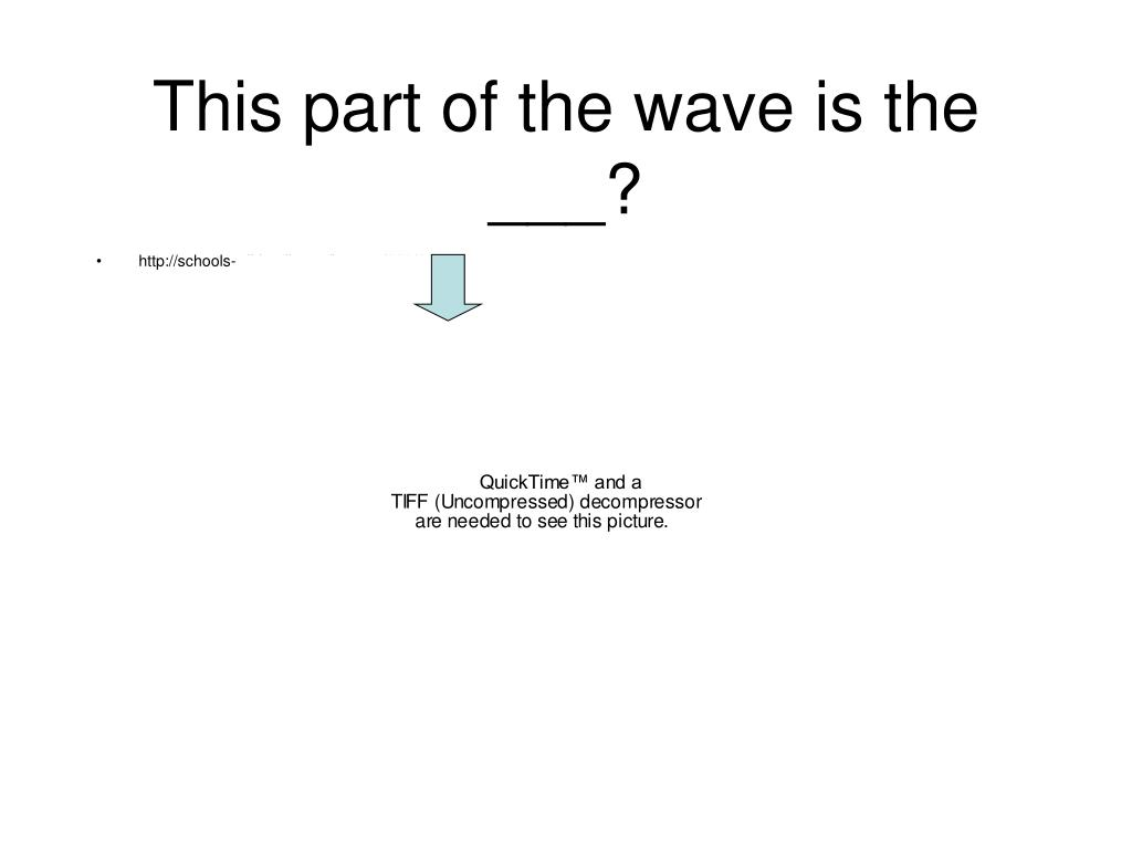 This part of the wave is the ___?
