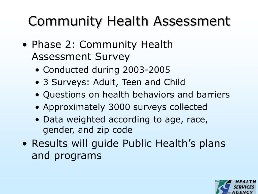 Community Health Assessment