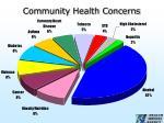 community health concerns