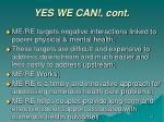 yes we can cont